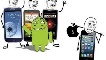 Айфон против андроид
