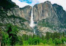 огненный водопад Лошадиный хвост