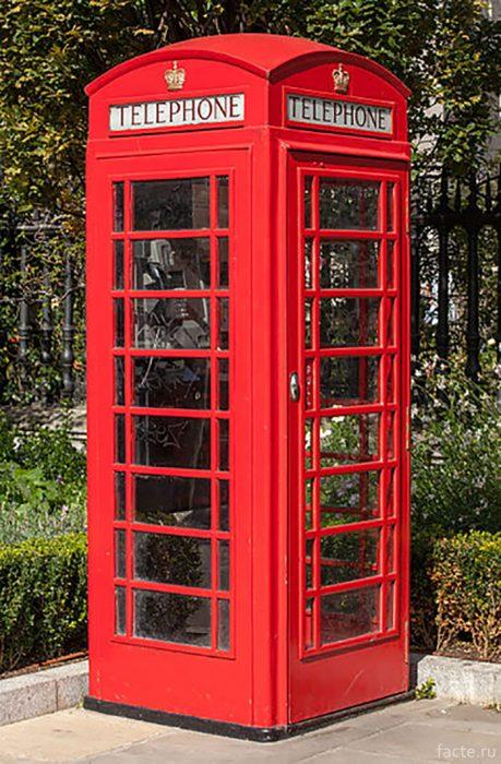 Красная телефонная будка К2