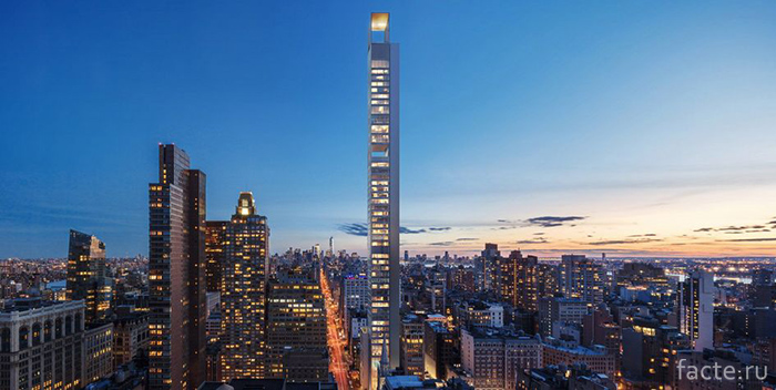 Пятая-авеню-в-Нью-Йорке,-Меганом-Бюро