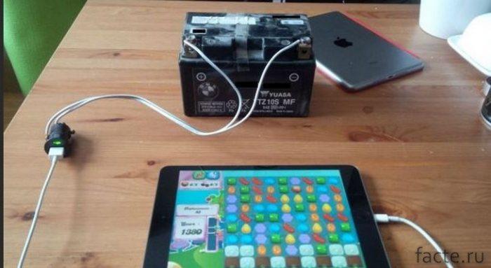 батарея для смартфона