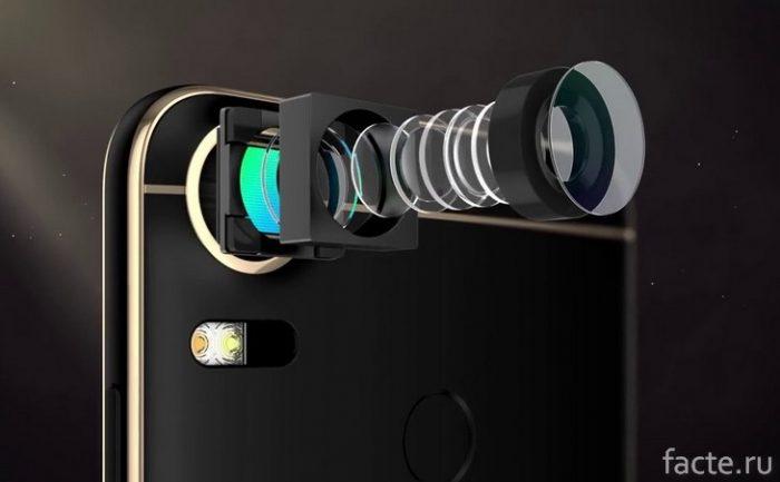 схема камеры