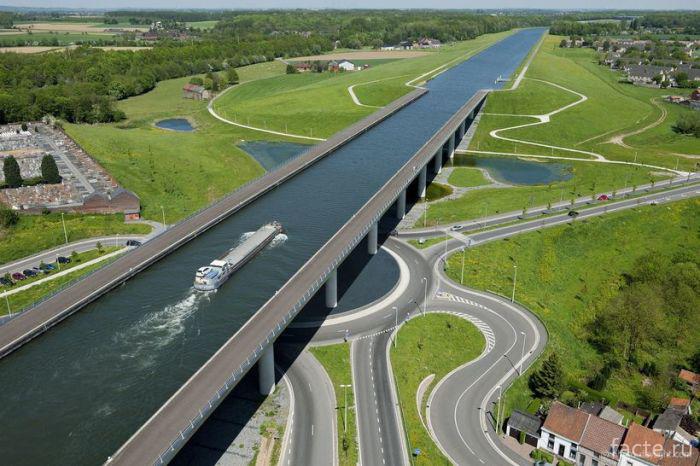 Бельгийский-водный-мост