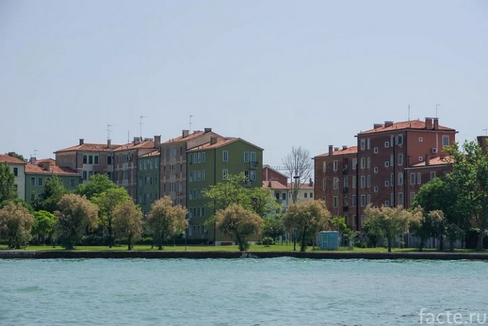 остров венеция