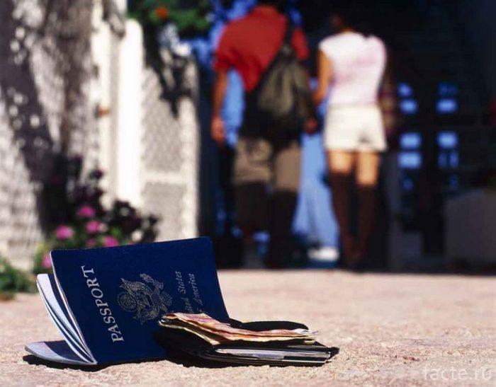 украли паспорт