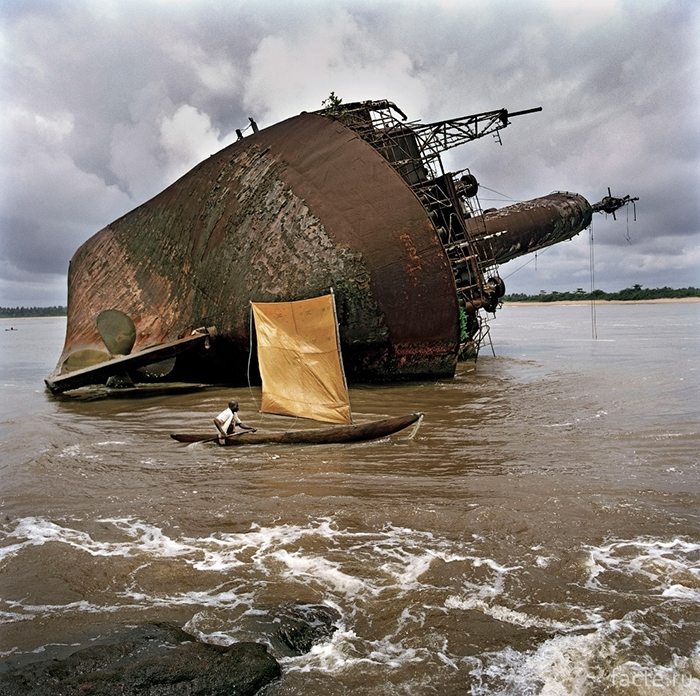 У берегов Либерии