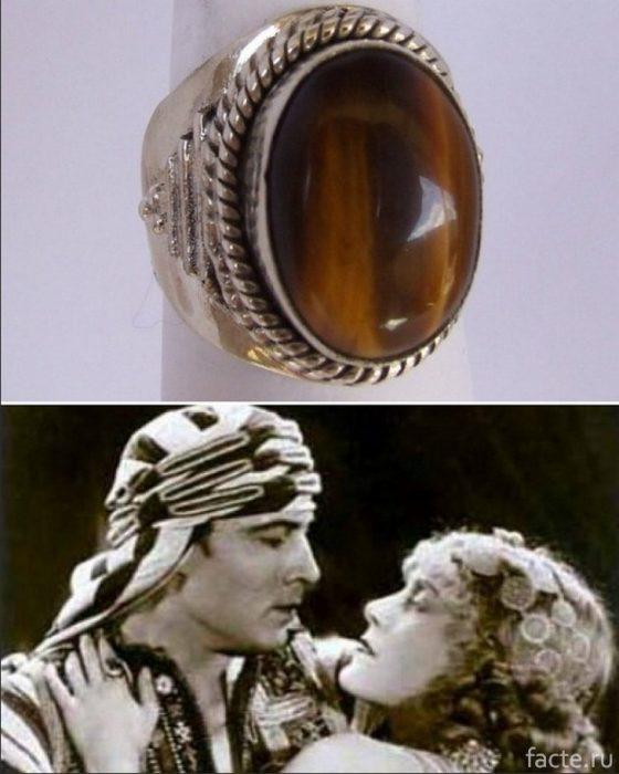 кольцо Рудольфо Валентино