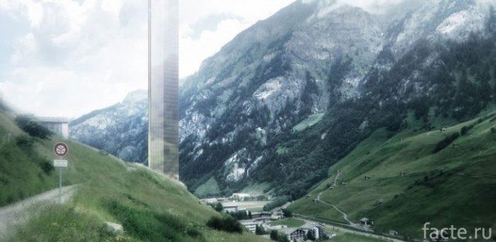 проект отеля в швейцарии