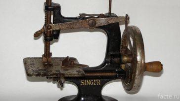 """Швейная машинка """"Зингер"""""""