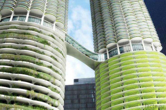 Концепт-небоскреба-в-Шанхае
