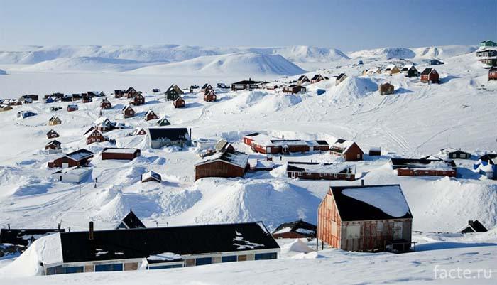 Иллоккортоормиут Гренландия