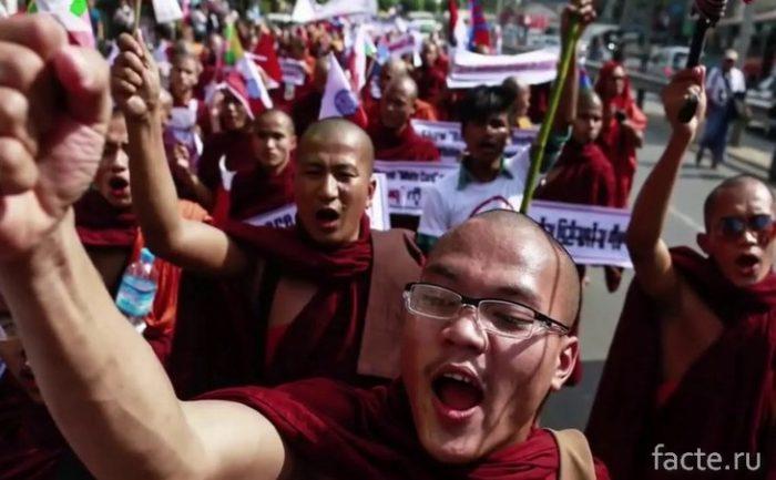 Радикальные буддисты