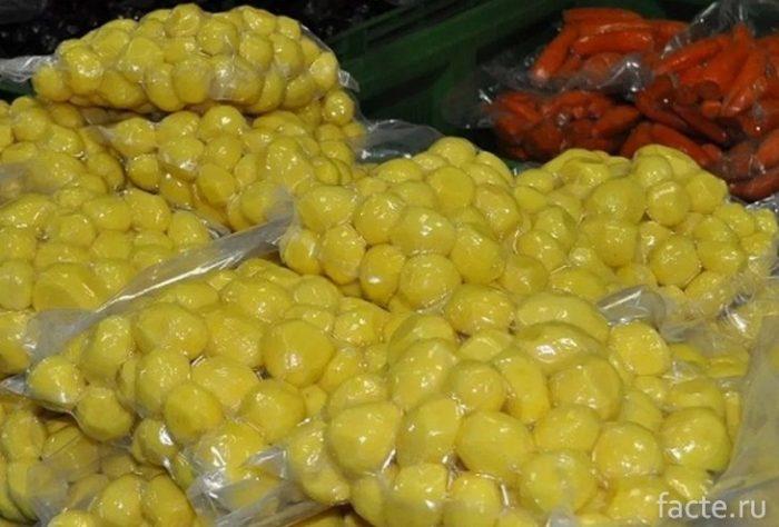сульфитированная картошка