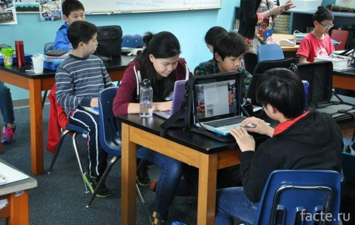 школа в Китае