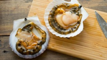 рецепт морские гребешков