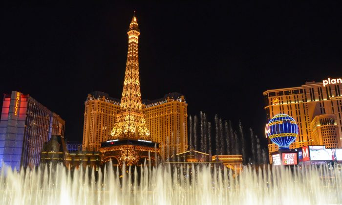 Las Vegas фонтаны