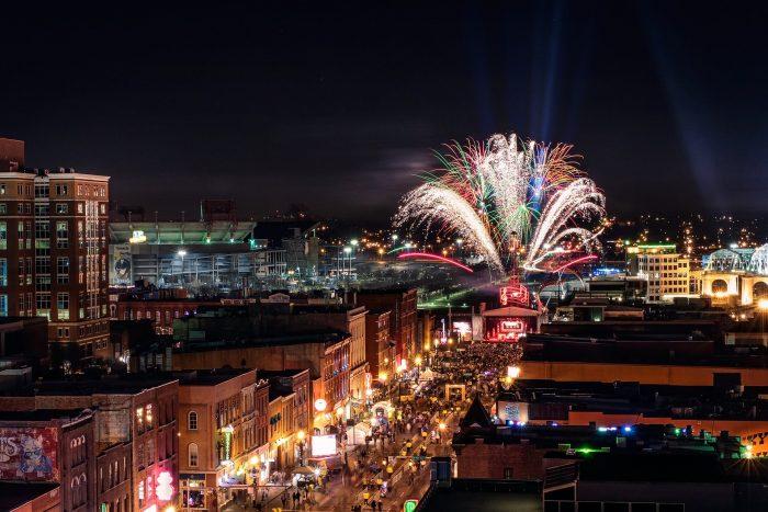 Nashville фейверк