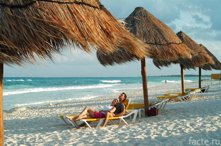 Playa Paraiso Мексика