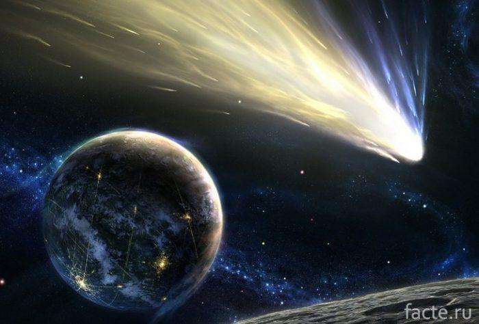 комета арт