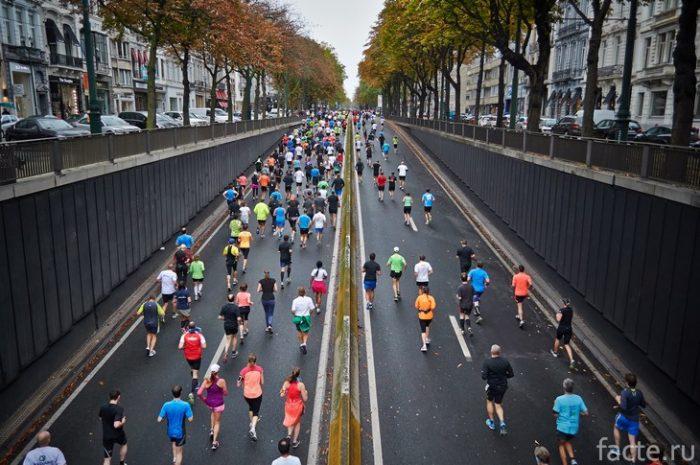 марафон по городу