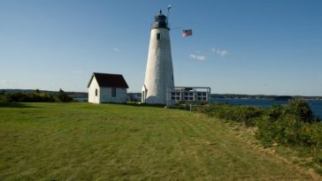 маяк остров бейкер