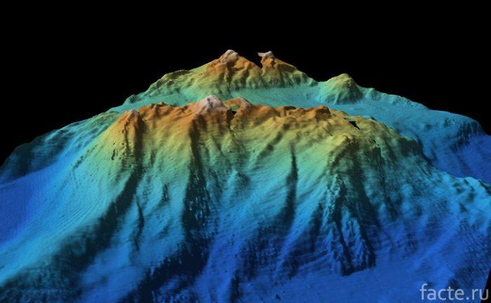 подводные горы картинка