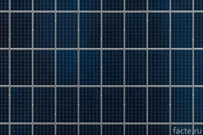 солнечные батареи много