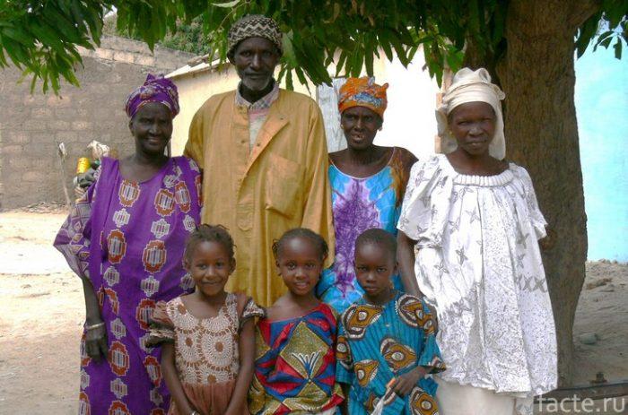 сенегал семья