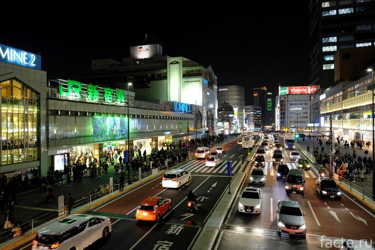 станция синдзюку токио