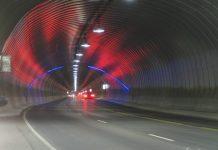 Эйксуннский тоннель норвегия
