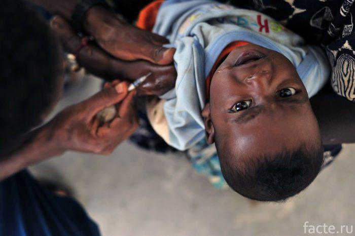 вакцинация в африке