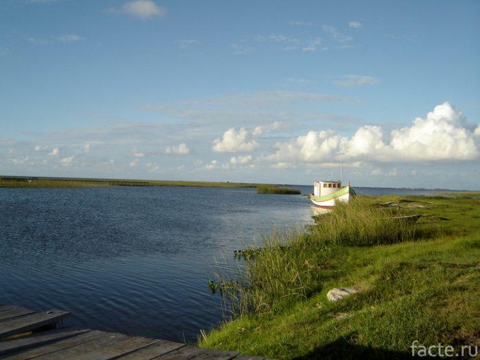 озеро патус бразилия