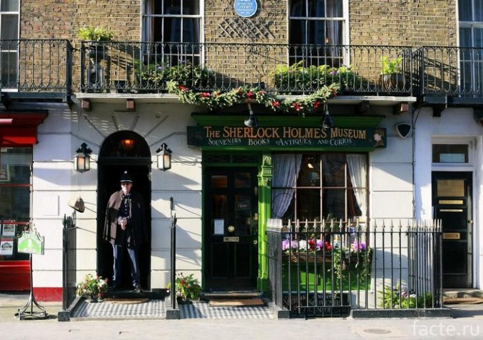 Музей Шерлока Холмса лондон