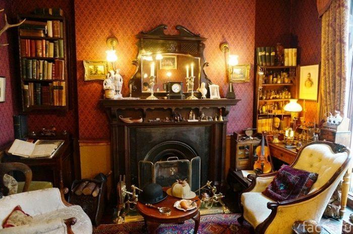 Музей Шерлока Холмса внутри