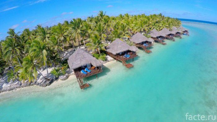 Острова Кука тихий океан