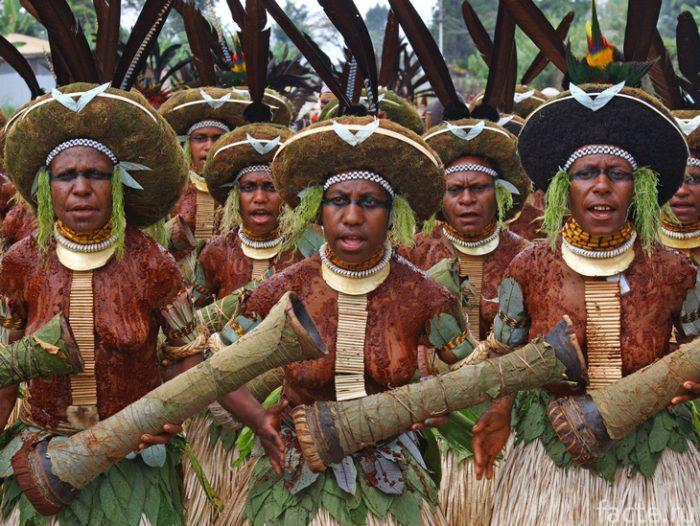 Папуа новая Гвинея население