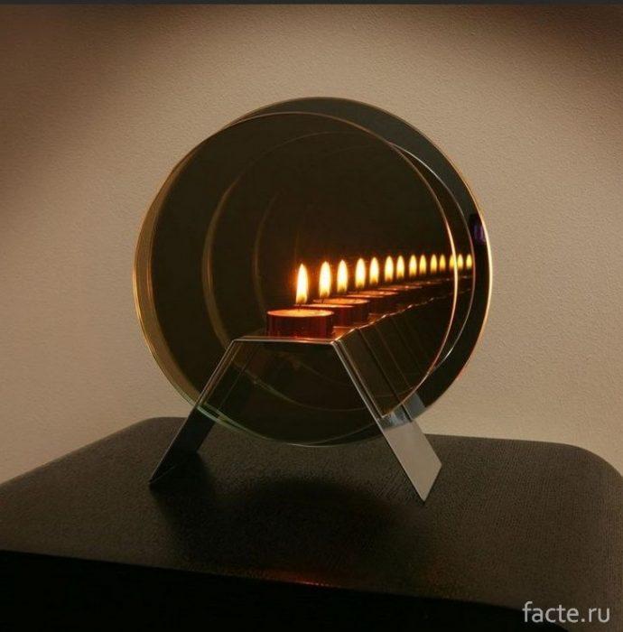 Зеркальная свеча