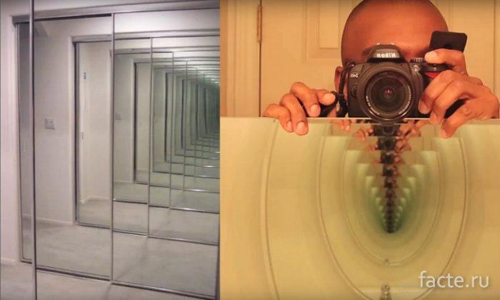 Зеркальный переход