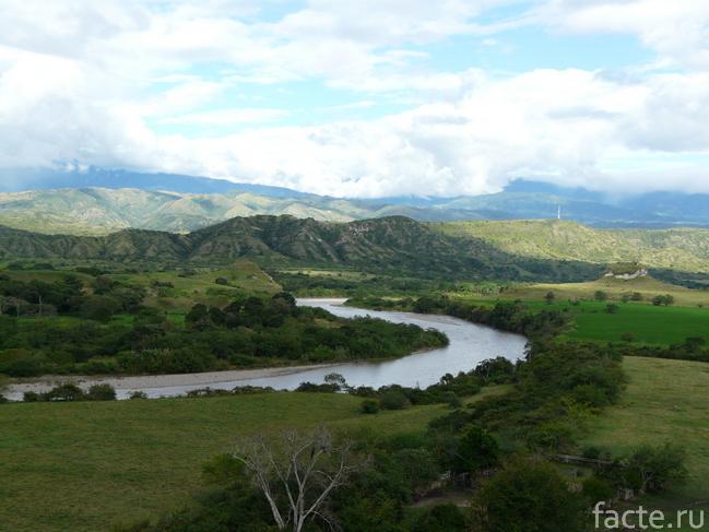 магдалена река