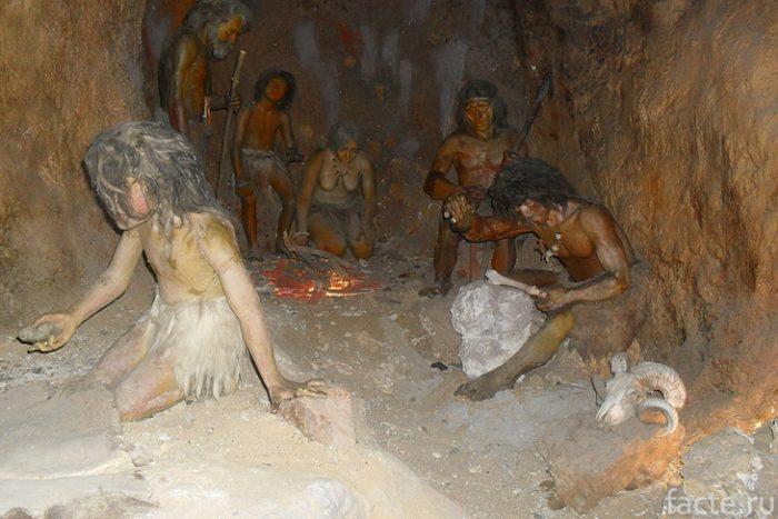 стоянка древних людей