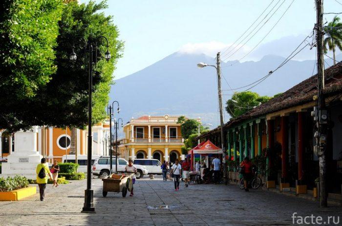Никарагуа улицы