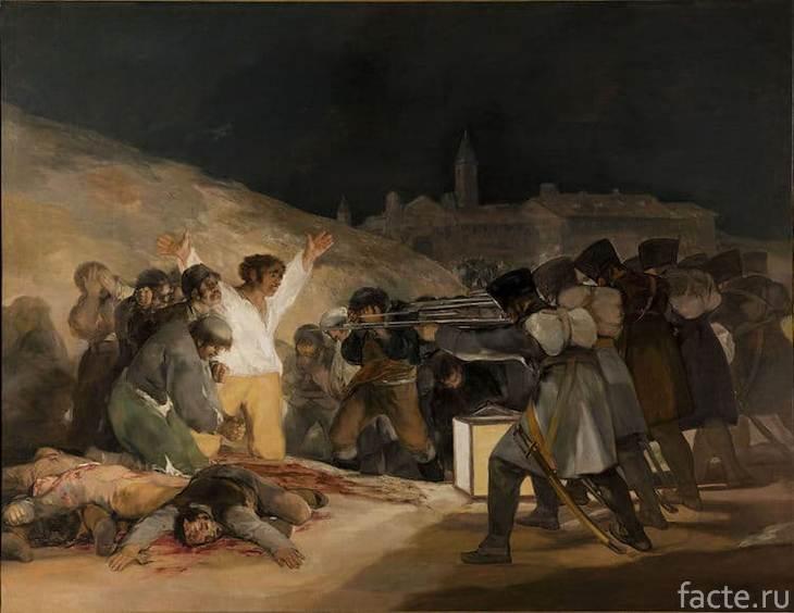 Третье мая 1808 года в Мадриде