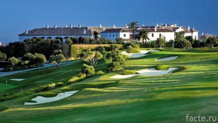 гольф малага