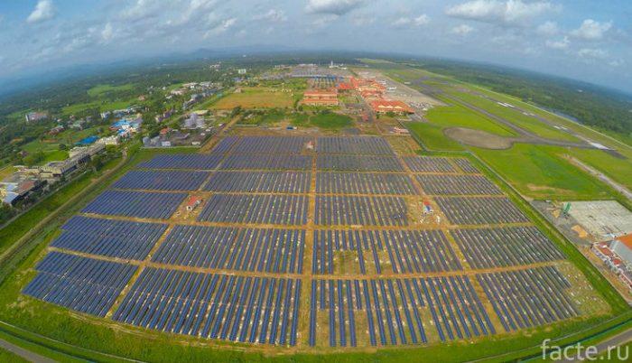кочин солнечные батареи