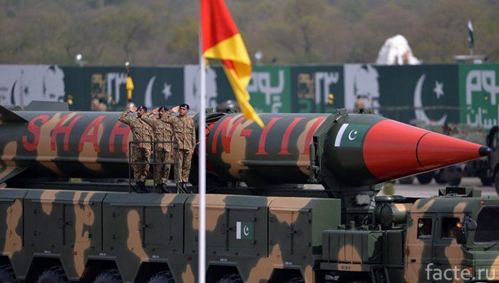 пакистан ядерное оружие