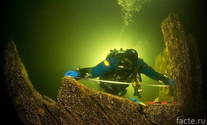 подводный археолог