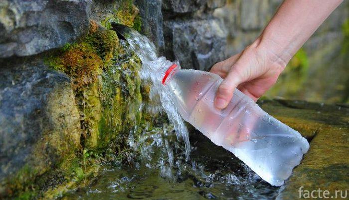 природные источники воды