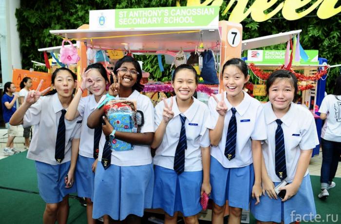 школьная форма сингапур