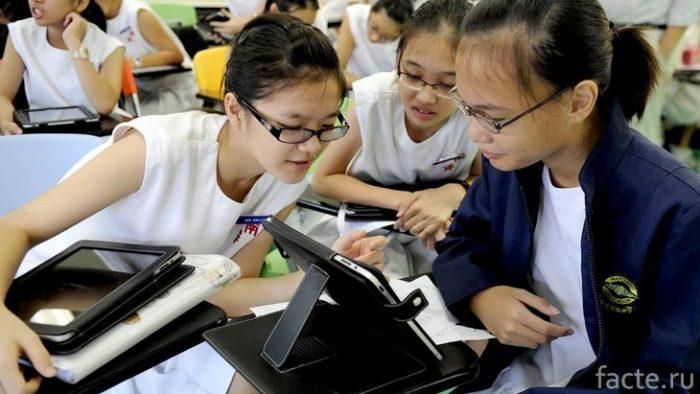 сингапур ученики