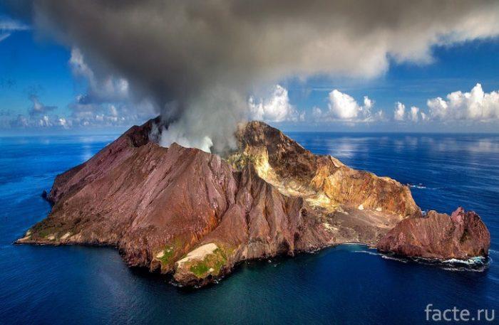 вулкан новая зеландия